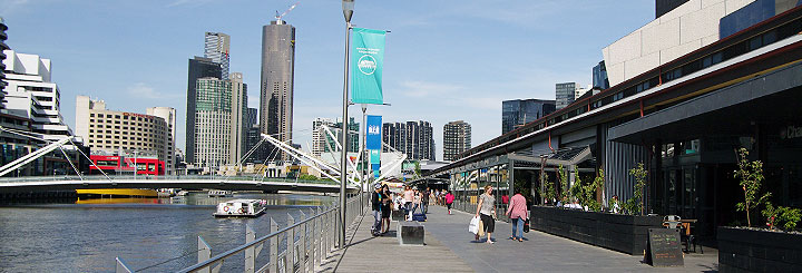 South Wharf Restaurants in Melbourne