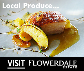 Stunning Country Dining at Flowerdale Estate