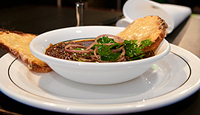 French Style Onion Soup With Braised Oxtail