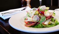 Chicken Salad, heirloom tomatoes, nectarines & tarragon