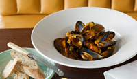 Mussels with Amontilado Sherry and Fennel