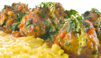 Veal & Ricotta Meatballs with Osso bucco sauce
