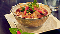 Tom Yum Goong Thai Spicy Prawn Soup