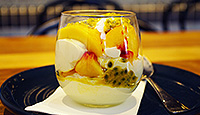 Eaton Mess with Autumn fruit