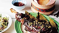 "Slow Roasted Lamb ""barbecoa style"" with Tamarind Chilli Mole"