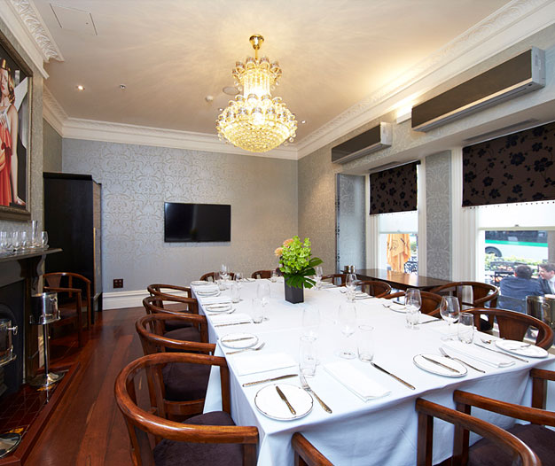 Terrace hotel table4u for Best private dining rooms hobart