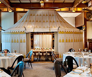 Silks southbank chinese restaurant at crown melbourne for Best private dining rooms in melbourne